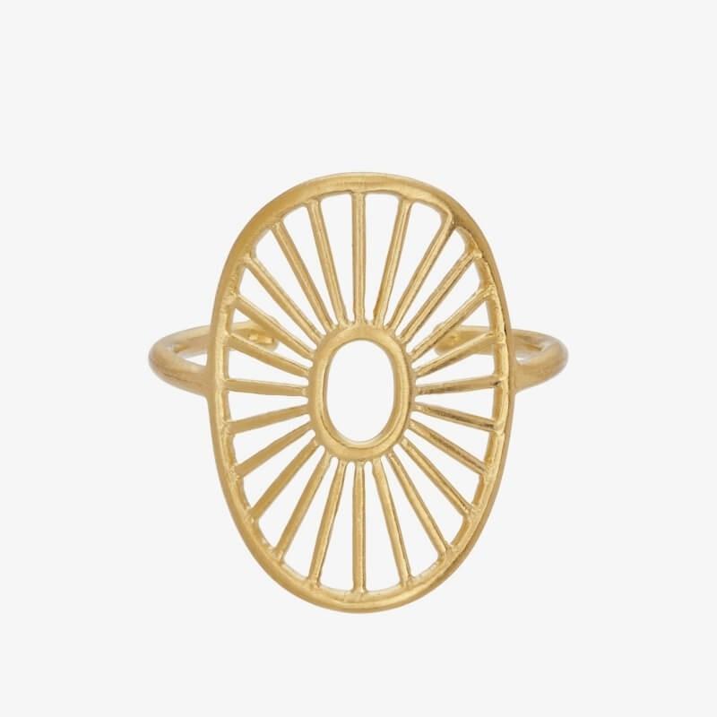 Pernille Corydon   Daylight Ring   Forgyldt-31