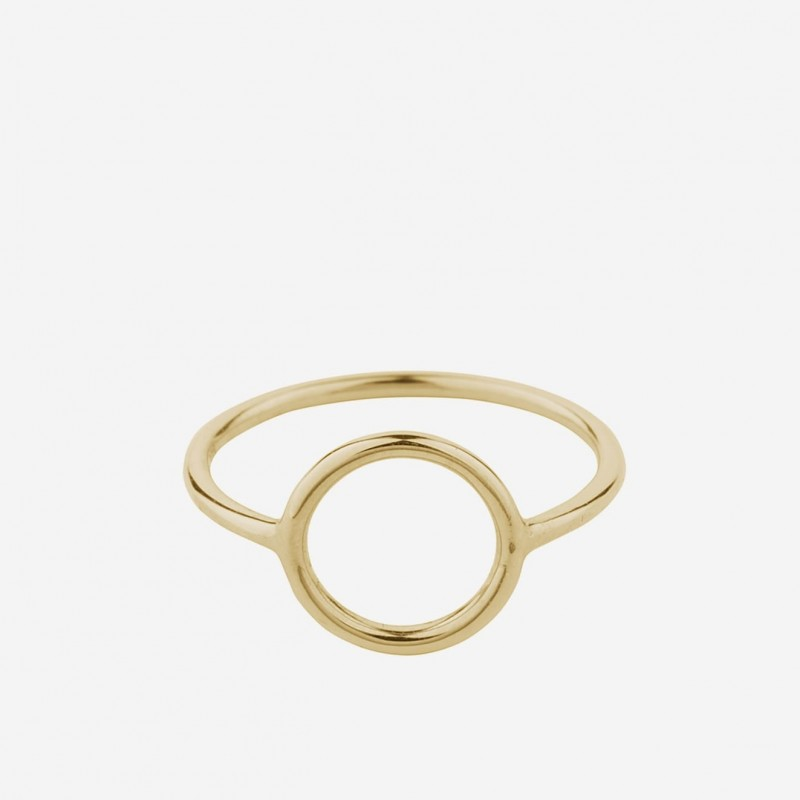Pernille Corydon | Halo Ring | Forgyldt-31