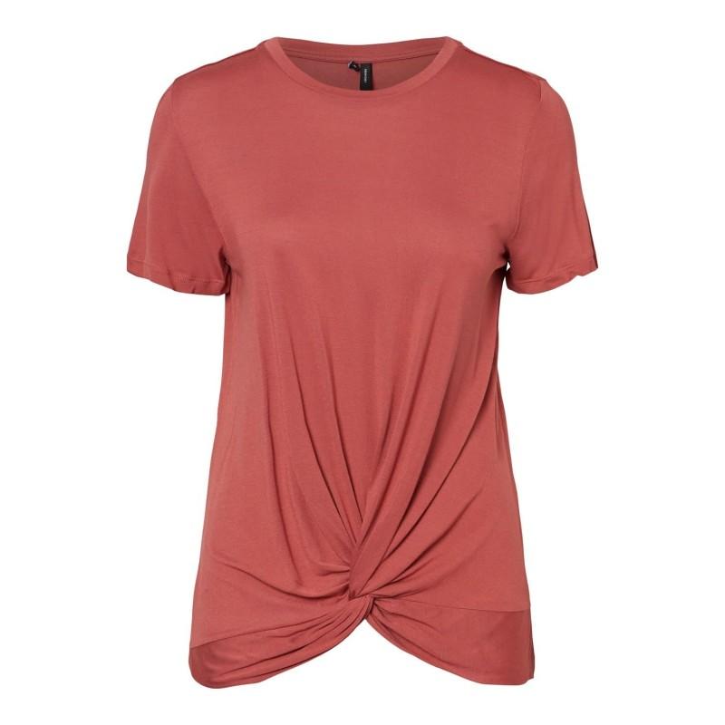 Vero Moda | Rebekka T-shirt | Rød-31