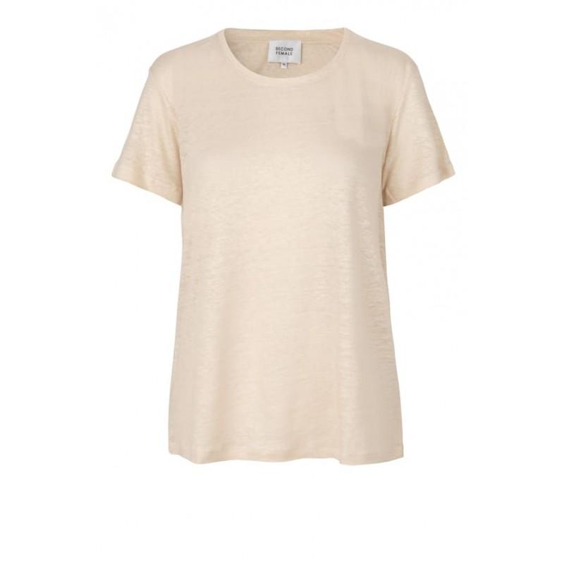 Second Female | Peony T-shirt I Sand-31