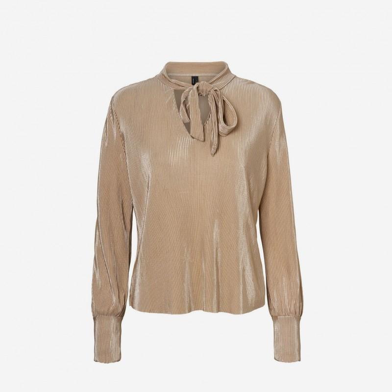 Vero Moda | Dagny Bluse | Guld-31