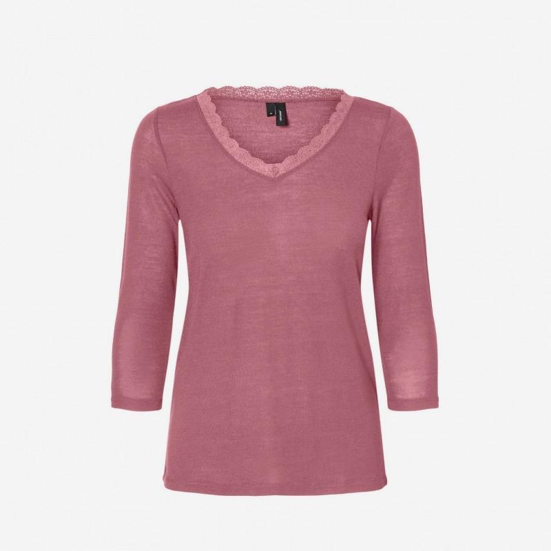 Vero Moda   Honey Bluse   Rosa-31