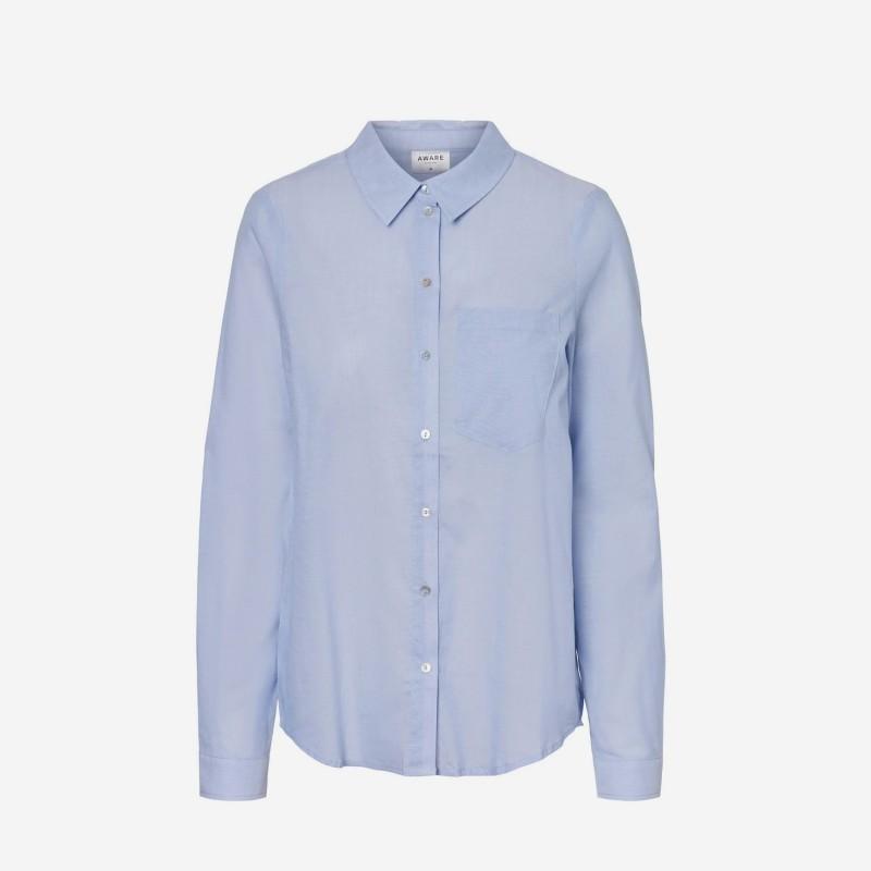 Vero Moda | Luna Skjorte | Blå-31