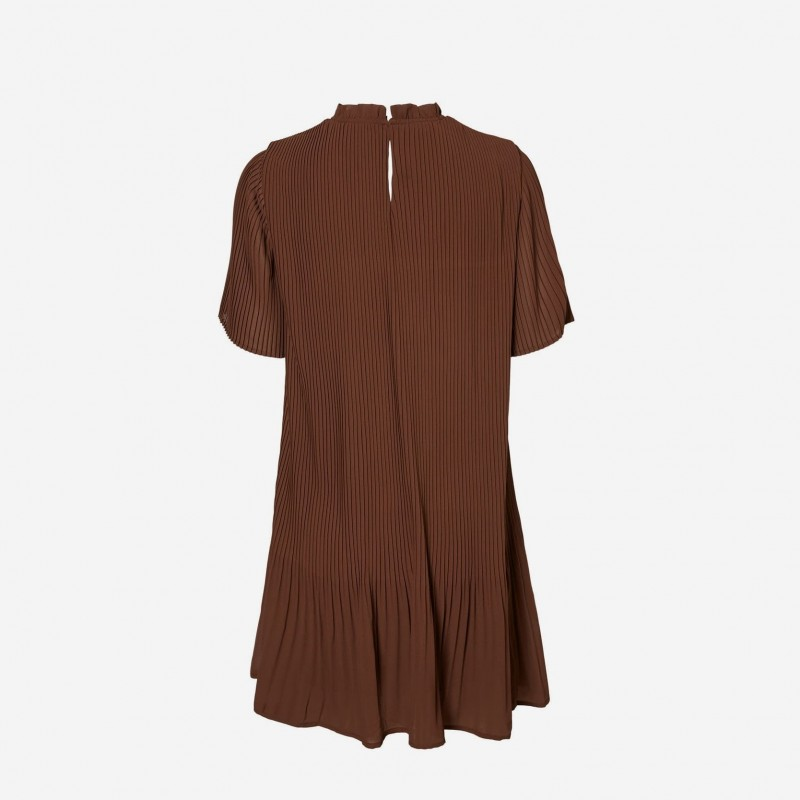 Vero Moda | Cicely Kjole | Brun-31