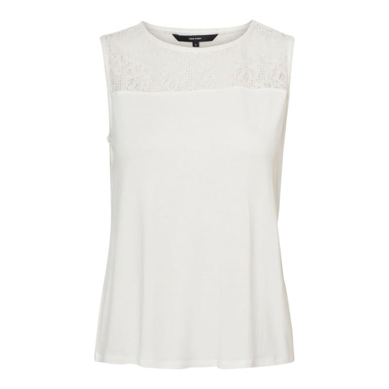 Vero Moda | Jasmin Top | Hvid-31
