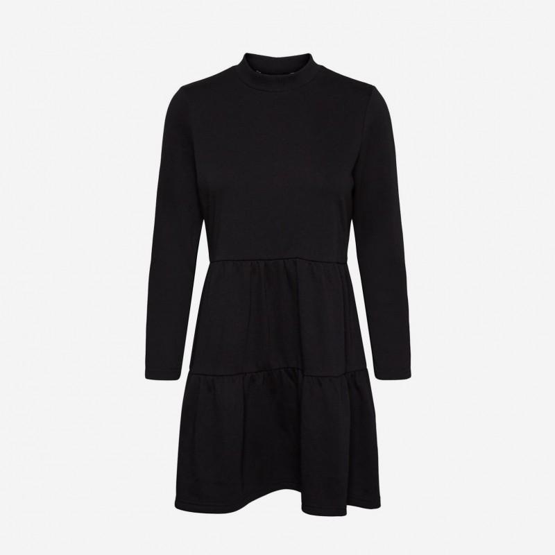 Vero Moda | Natalia Sweat Kjole | Sort-31