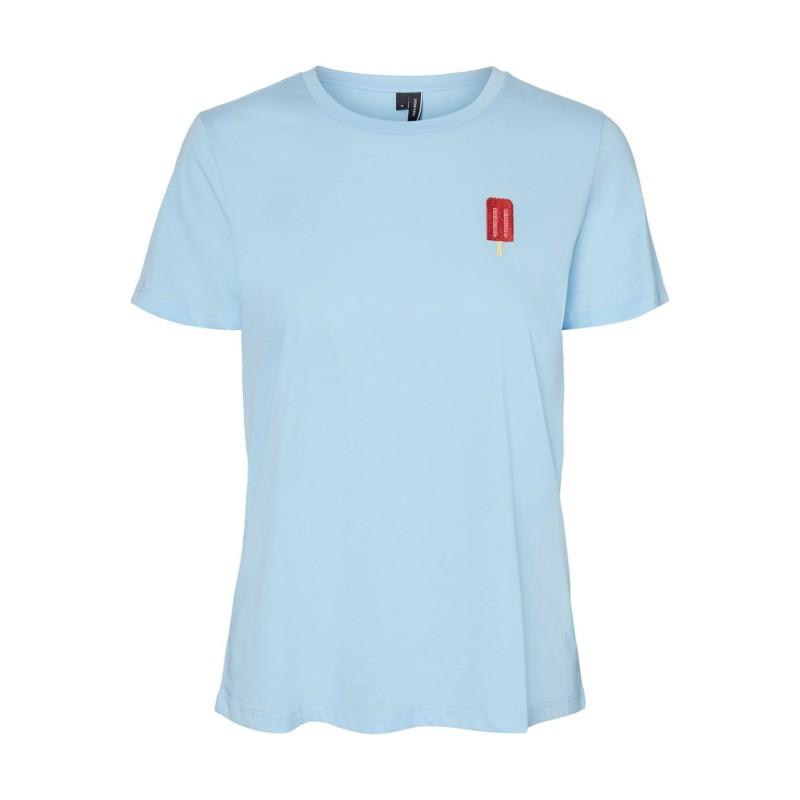 Vero Moda | Francis T-shirt | Blå-31