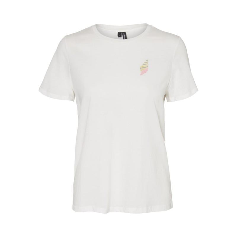 Vero Moda | Francis T-shirt | Hvid-31