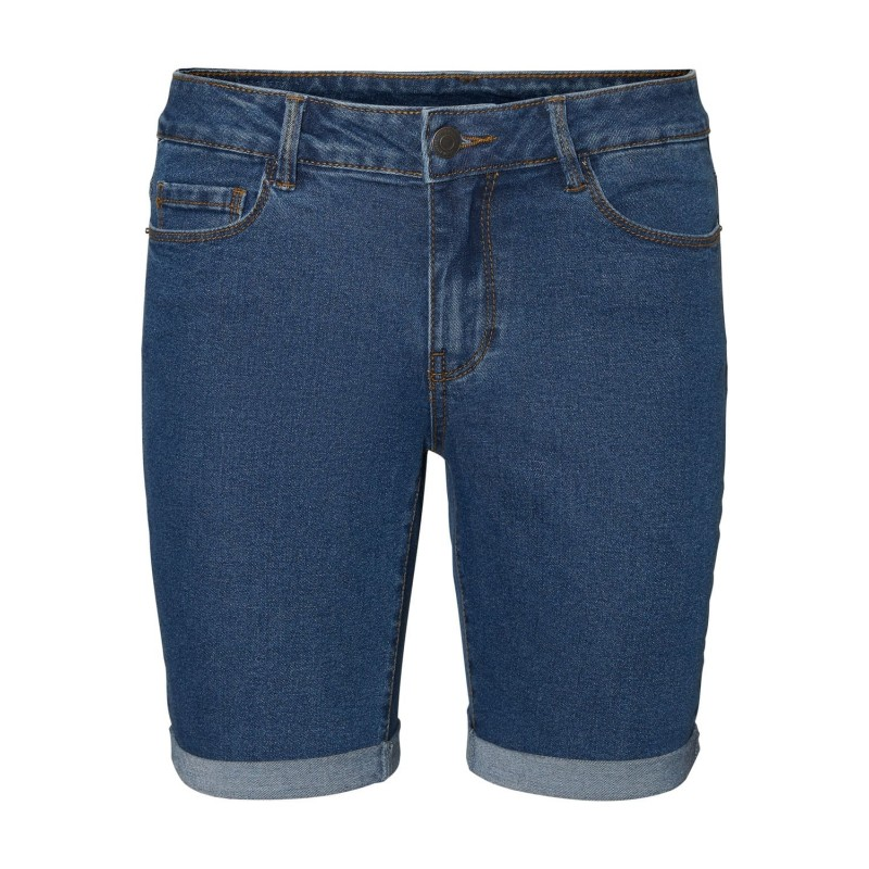 Vero Moda | Hot Seven Shorts | Mørk Denim-31