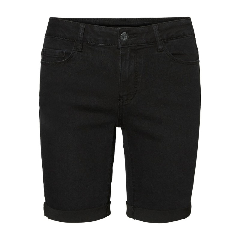 Vero Moda | Hot Seven Shorts | Sort Denim-31