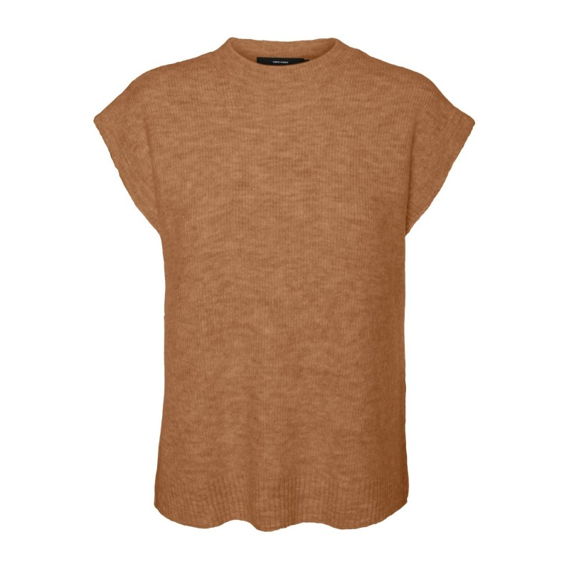 Vero Moda I Lefile Vest I Tobacco Brown-31