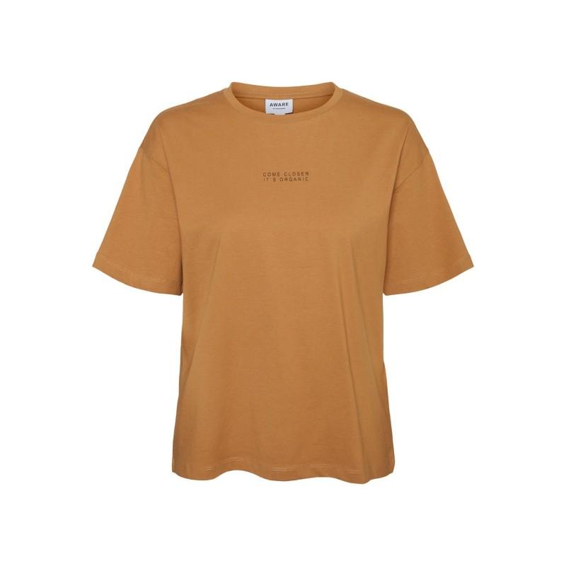 Vero Moda / Aware | Magic T-shirt | Brun-31