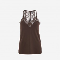 Vero Moda | Milla Top | Coffee-20