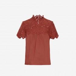 Vero Moda | Vay Bluse | Mahogany-20