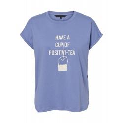 Vero Moda | Gillianava T-shirt | Blå-20