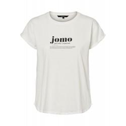 Vero Moda | Gillianava T-shirt | Hvid-20