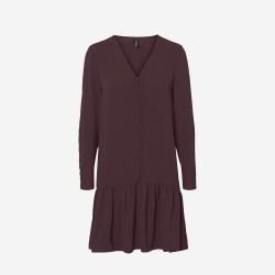 Vero Moda I Wigga Kjole | Vinrød-20