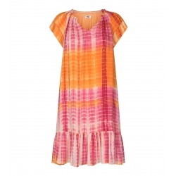 Cocouture | Sunrise Tie Dye Kjole | Orange-20