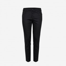 Pulz | Rosita pant | Sort Coated-20