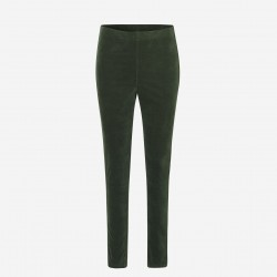 Rosemunde | Velour Leggings | Grøn-20
