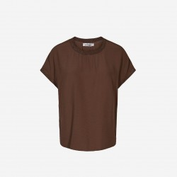 Cocouture | New Norma Top | Walnut-20