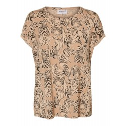 Vero Moda / Aware | Ava T-shirt | Beige M. Tiger-20