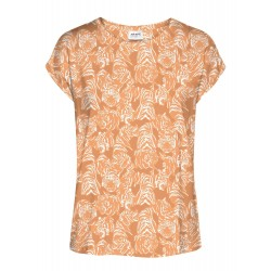 Vero Moda / Aware | Ava T-shirt | Orange M. Tiger-20