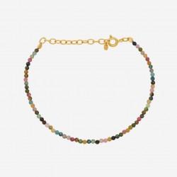 Pernille Corydon | Turmalin Bracelet | Forgyldt-20