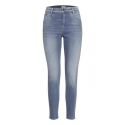 Pulz | Carmen Highwaist Ankel Skinny | Medium Denim-20