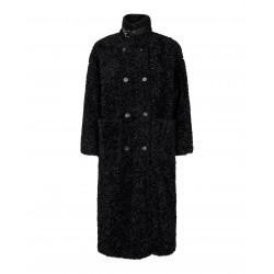 Co´couture I Morgan Fur Coat I Sort-20
