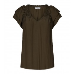 Cocouture | Sunrise Pauline Top | Army-20