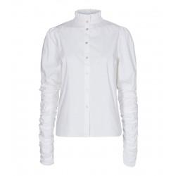 Cocouture I Sandy Poplin Puff Skjorte I Hvid-20