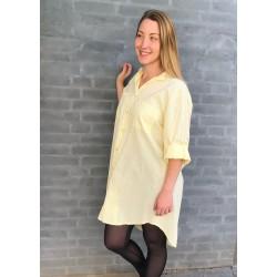 Copenhagen Luxe | Skjorte kjole | Gul-20