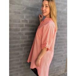 Copenhagen Luxe | Skjorte kjole | Koral-20