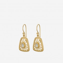 Pernille Corydon | Thilde Earrings | Forgyldt-20