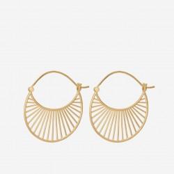 Pernille Corydon | Daylight Øreringe Store | Forgyldt-20