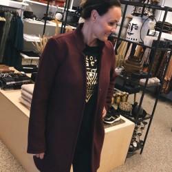 Vero Moda | Katrine Jakke | Bordeaux-20