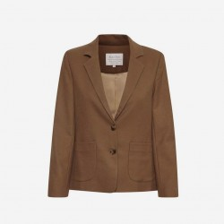 Part Two |Talia Blazer | Camel-20