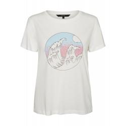 Vero Moda | Katherinafrancis T-shirt | Hvid-20