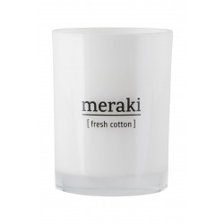 Meraki I Duftlys I Fresh Cotton-20