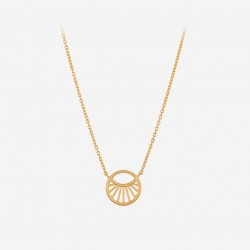Pernille Corydon | Small Daylight Necklace | Forgyldt-20