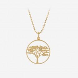 Pernille Corydon | Acacia Halskæde | Forgyldt-20
