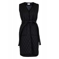 Neo Noir I Mono Quilted vest I Sort-20
