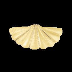 Bon Dep | Peacock Hårklemme | Gul-20