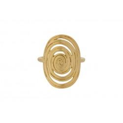 Pernille Corydon I Venus Ring I Forgyldt-20