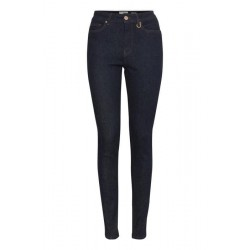 Pulz | Liva Jeans | Mørkeblå Denim-20