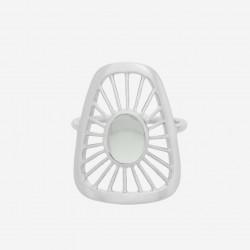 Pernille Corydon | Thilde Ring Large | Sølv-20