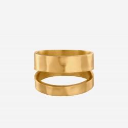 Pernille Corydon | Avenue Ring | Forgyldt-20