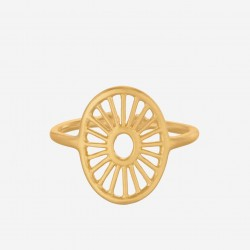 Pernille Corydon | Small Daylight Ring | Forgyldt-20