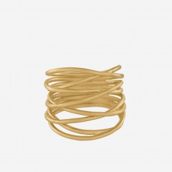Pernille Corydon | Paris Ring | Forgyldt-20
